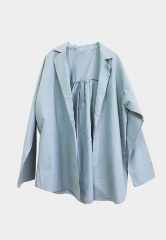 BASIC COTTON OUTERWEAR IN BLUE 15