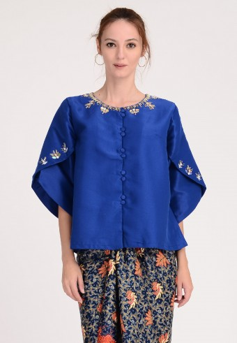 MISS KORA IN ROYAL BLUE (TOP ONLY)