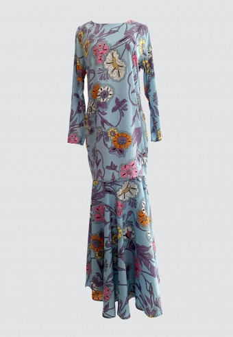 ROSEA KURUNG IN BLUE