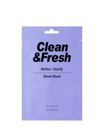 EUNYUL Clean & Fresh Refine / Clarify Sheet Mask ( 1 PCS )