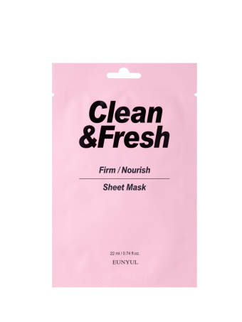 EUNYUL Clean & Fresh Firm / Nourish Sheet Mask ( 1PCS )