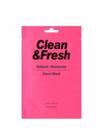 EUNYUL Clean & Fresh Refresh / Moisturize Sheet Mask  ( 1 PCS )
