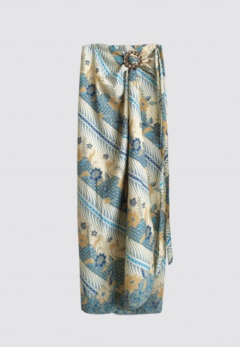 PARIO BATIK LEPAS IN BLUE