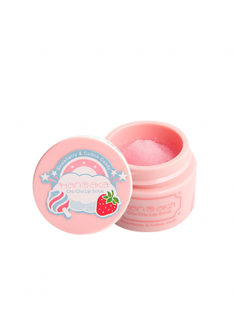Hanaka Chu Chu Lip Scrub 15ml - Strawberry & Cotton Candy