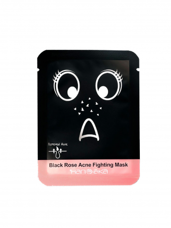 Hanaka Black Rose Acne Fighting Mask  ( 1pcs )