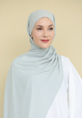 Inaya shawl in powder