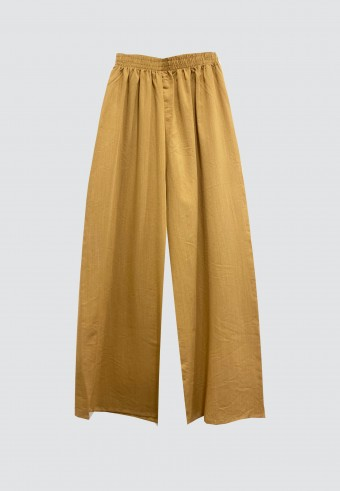 RELAX PALLAZO PANTS IN BROWN