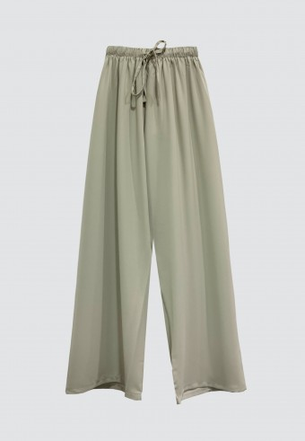 SILK ROPE PANT IN LIGHT MINT