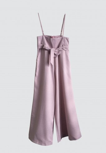 BASIC STRAP PANTS IN PINK 5