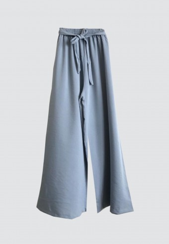 ROPE PALAZZO PANT IN BLUE
