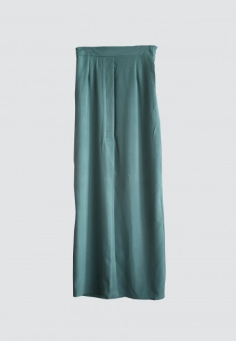 FRONT PLEATED SKIRT IN MINT 6
