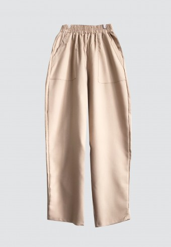 TAPPERED POCKET PANTS IN BROWN 14