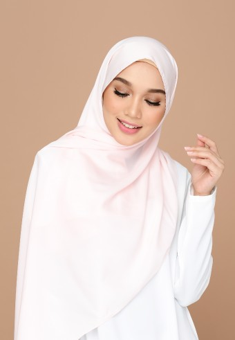 TRISYA BASIC SATIN - VINTAGE PEACH