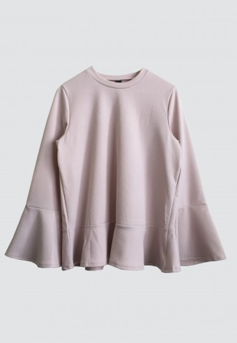 PUFF TOP IN SOFT PINK