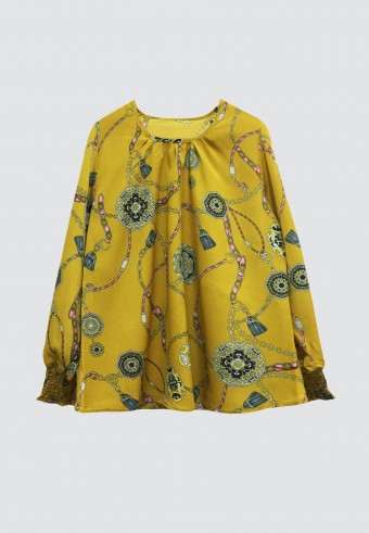 ALOHA TOPS IN YELLOW