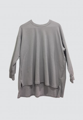 SOFT LINE LOOSE TOP IN GREY