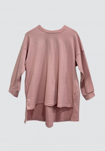 FALL LOOSE TOP IN PINK